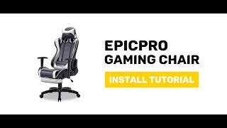 JIJI EpicPro Gaming Chair - Display and Install Procedure