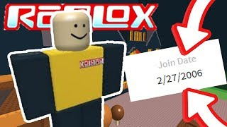 PLAYING ROBLOX GAMES FROM 2006! OLDEST VERSION OF ROBLOX!