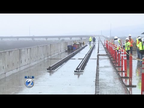 Tour the first mile of Honolulu rail's elevated guideway