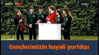23 NİSAN NTV VİDEOSUNDA SİMGE FISTIKOĞLU ARİFE VİLDAN'DAN GELEN CEVABA ŞAŞIRDI ( 23 Nisan )