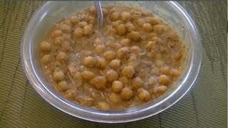 Chickpea Curry - Indian Recipe