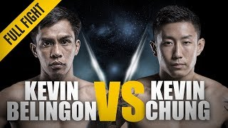 ONE: Full Fight | Kevin Belingon vs. Kevin Chung | A Thrilling Three-Round Battle | November 2017