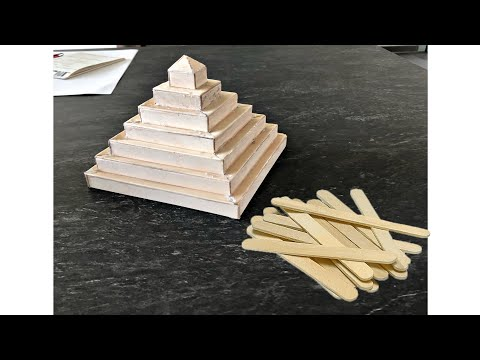 The *PYRAMID* From Popsicle Sticks