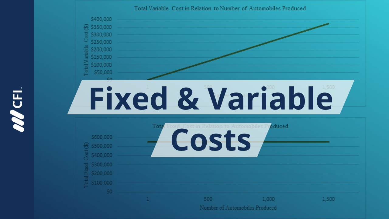 Fixed and Variable Costs - Guide to Understanding Fixed vs Variable