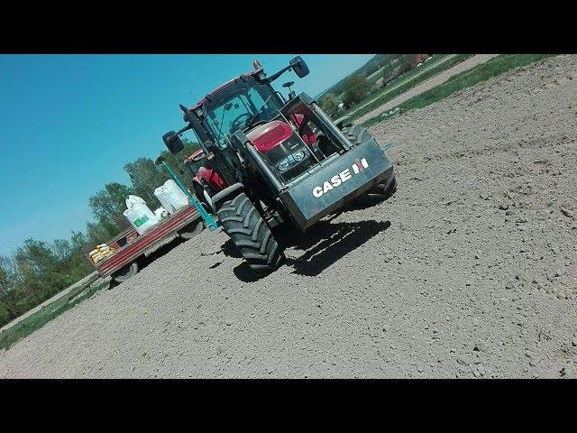 Siew kukurydzy 2k18* Case Farmall 105u*Monosem*Agriculture&Graboszyce.