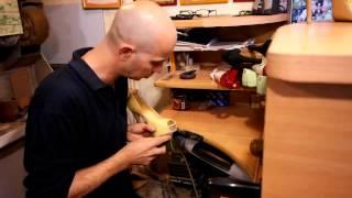 Видео уроки по ремонту обуви, как поставить профилактику часть 4