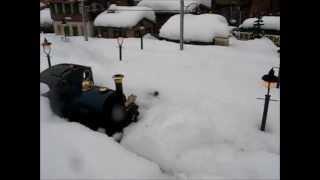 Snowdrift at Charnwood