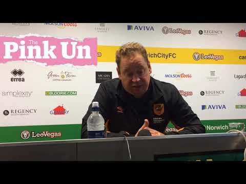 Hull City boss Leonid Slutsky on 1-1 Championship draw at Norwich City