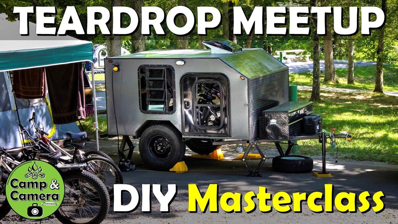 DIY Teardrop Gathering Finale | DIY MASTERCLASS CAMPER