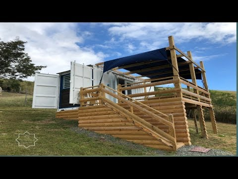 The most beautiful container house Nieves Tiny Container Home