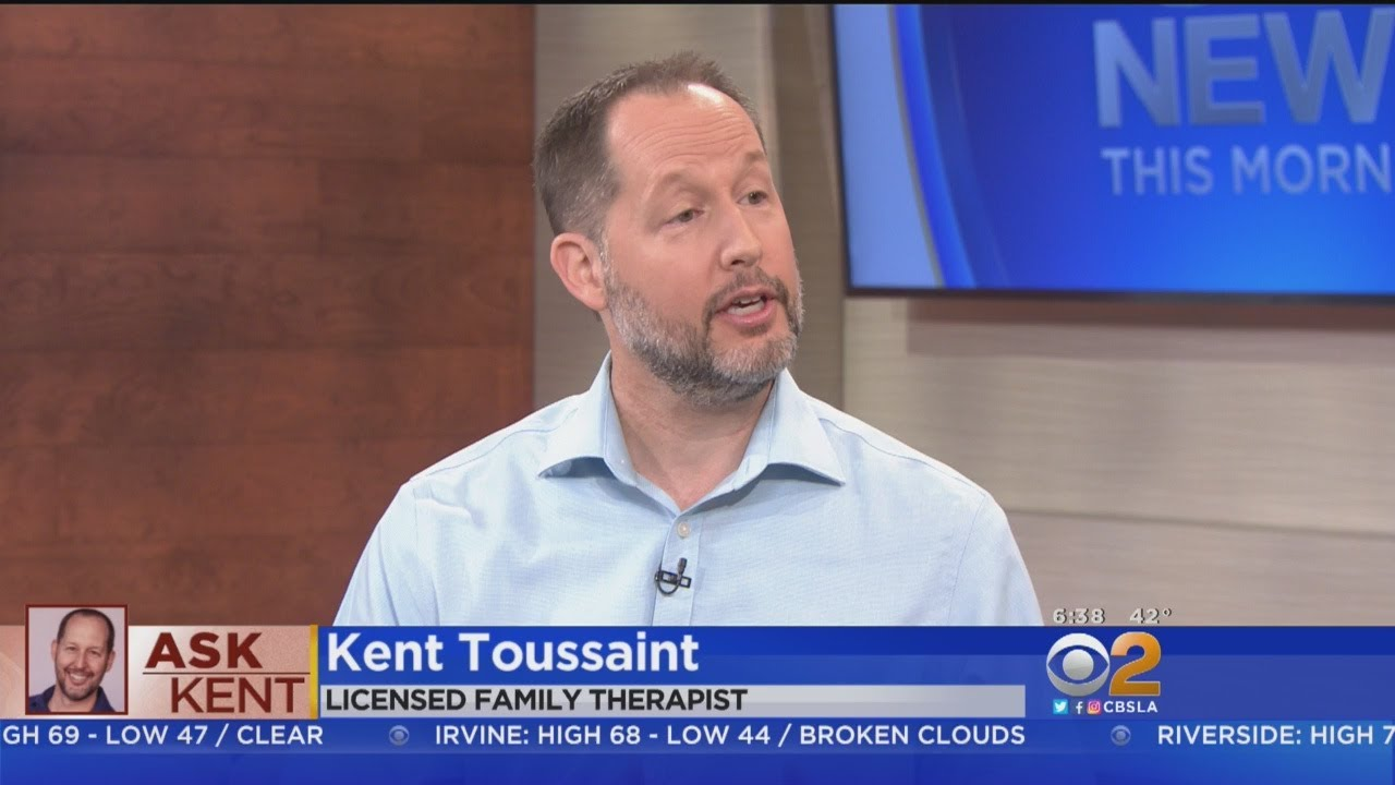 Family Therapist Kent Toussaint Answers Holiday Questions