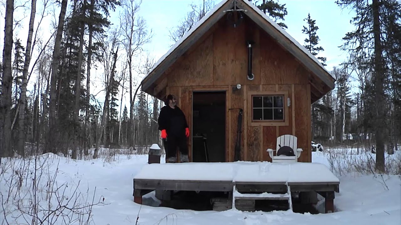 Gee haw alaska real estate for sale aspen circle for Remote cabin plans