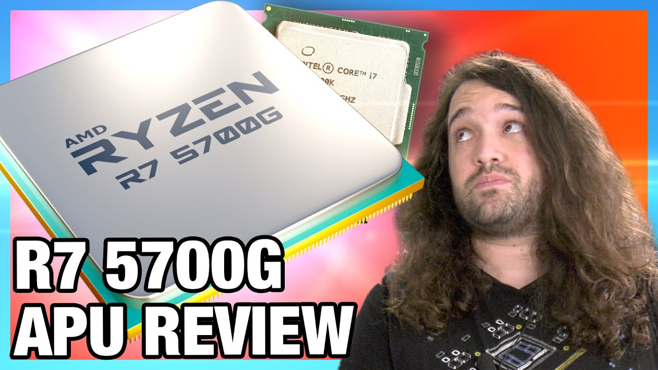 Download AMD $360 Ryzen 7 5700G APU Review & Benchmarks vs. R5 5600G, R7 5800X, & More