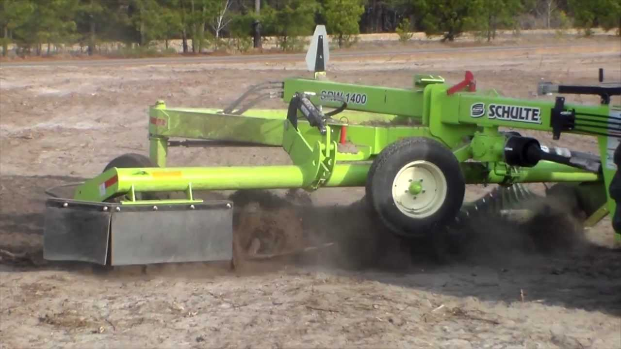 Easy Way To Pickup Roots Stumps And Chunks With A Schulte