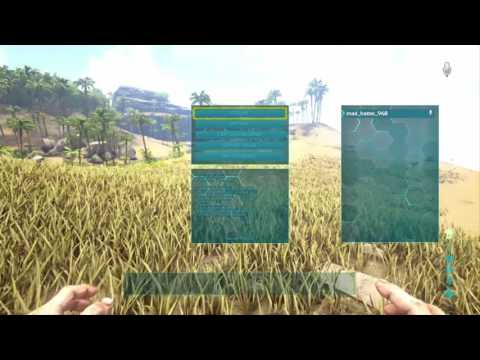 Ark Survival Evolved How to Open Admin Bar and unlock the Center Map Ps4