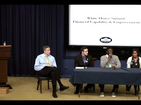 White House Summit on Financial Capability and Empowerment: Youth Panel with Secretary Arne Duncan