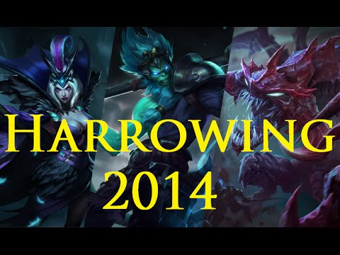 LoL - Halloween - 2014 skins ~Harrowing~ [FR] - YouTube