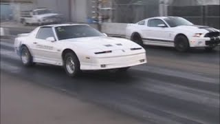 2013 Mustang GT500 Vs 1989 Turbo Trans Am Racelegal.com 6-26-2015