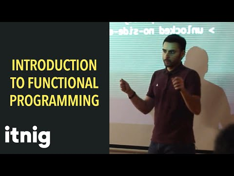 Intro to functional programming with Javascript - by lead developer at Ulabox Ruben Sospedra