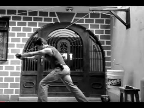 Polea para ejercicios racknar samael zpartan gym youtube for Aparatos para hacer ejercicio