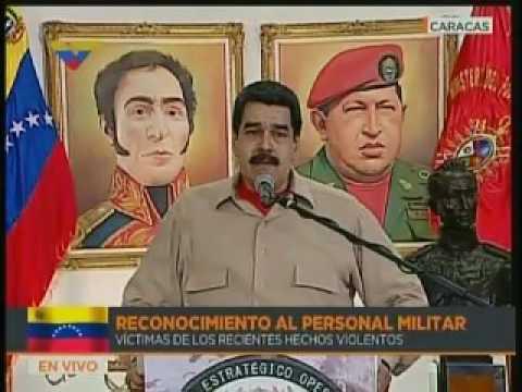 Nicolás Maduro dice que tiene la bendición de Dios