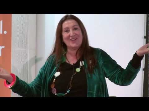 The return of the wise woman: Lynne Franks at TEDx...