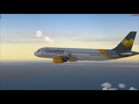 Let´s Play Flight Simulator X #3 / Von Stuttgart nach Djerba