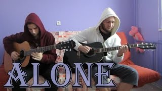 Alan Walker - Alone (acoustic guitar cover, tabs)