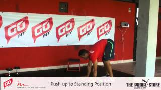 GoFit DR Push - Up to Standing Position