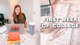 FIRST week of college vlog (junior year)