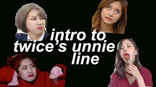 Twice Parallel Universe: Intro to the Unnie Line