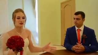Александра и Аркадий Костюковы поженились в день знакомства, Блокнот Россошь, июль 2017