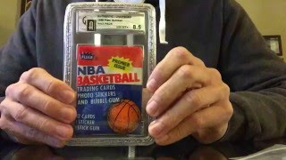 1986 Fleer Basketball Pack: Predicting Card Sequence