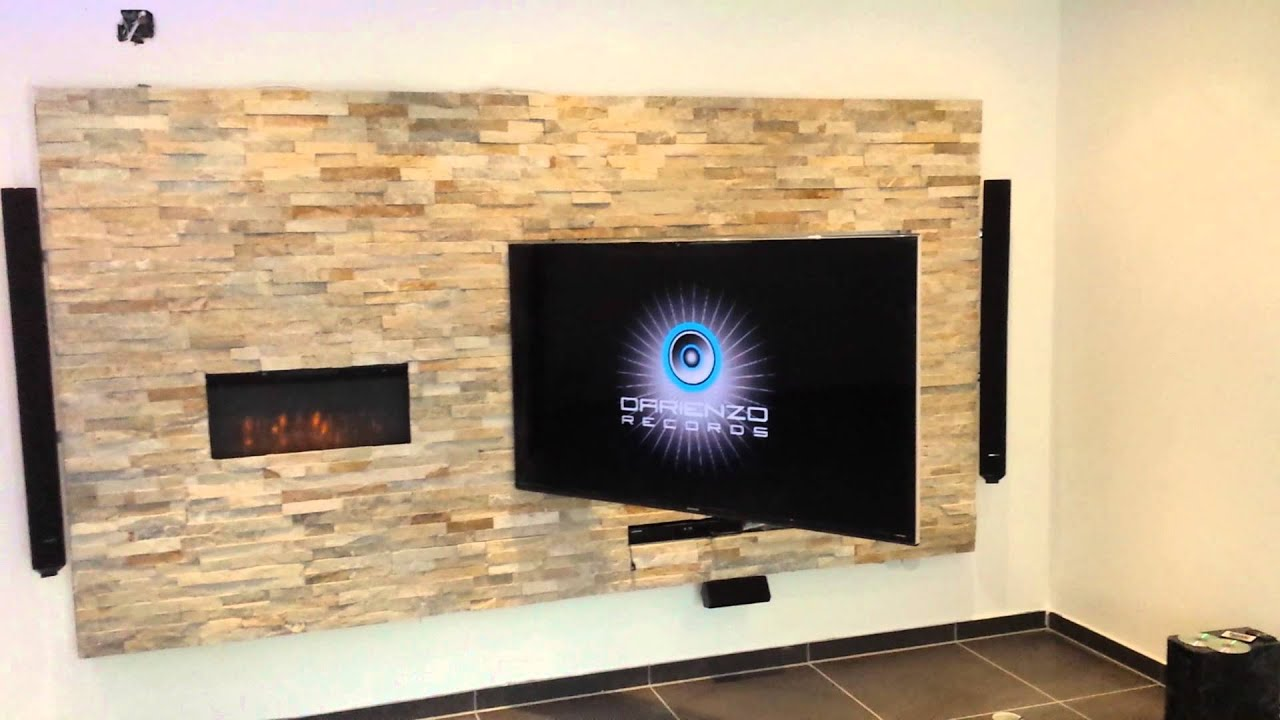 Tv wand selber bauen laminat  Tv-Wand..design by miti - YouTube