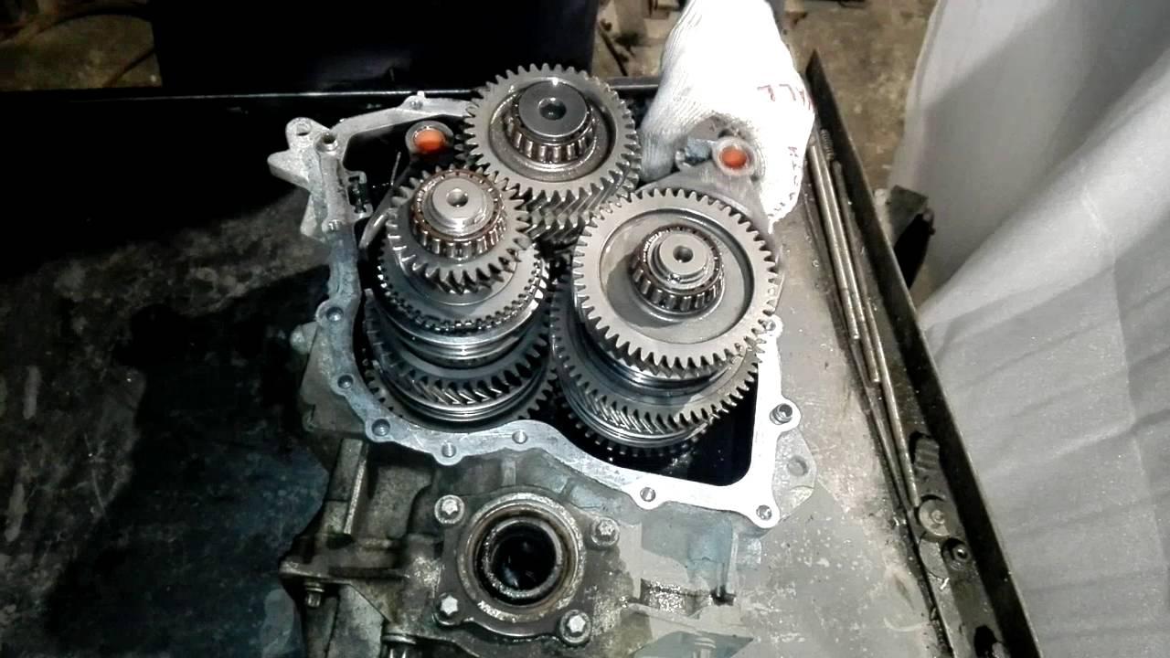 Как сделать ремонт кпп 38