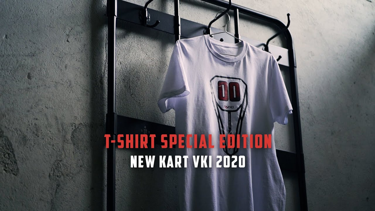New (Red) Kart VKI 2020 | T-Shirt Special Edition