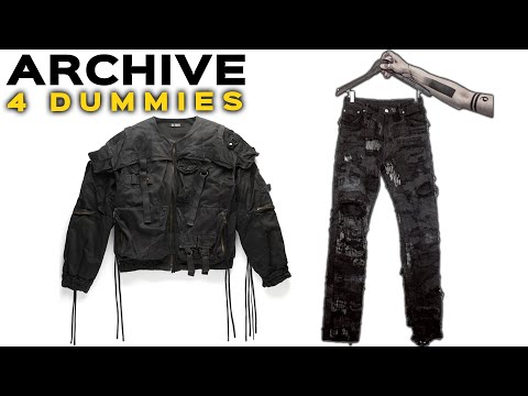 Archive Fashion For Dummies
