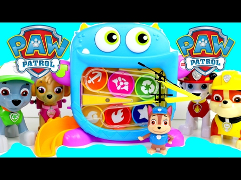 Thumbnail: Paw Patrol, Best Baby Toy Learn Colors Video for Preschool Children, Learn Colours, Finger Family