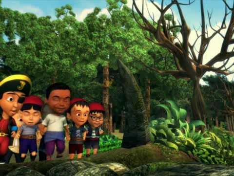 Upin & Ipin Kembara Ke Pulau Harta Karun (Bahagian 4 ...