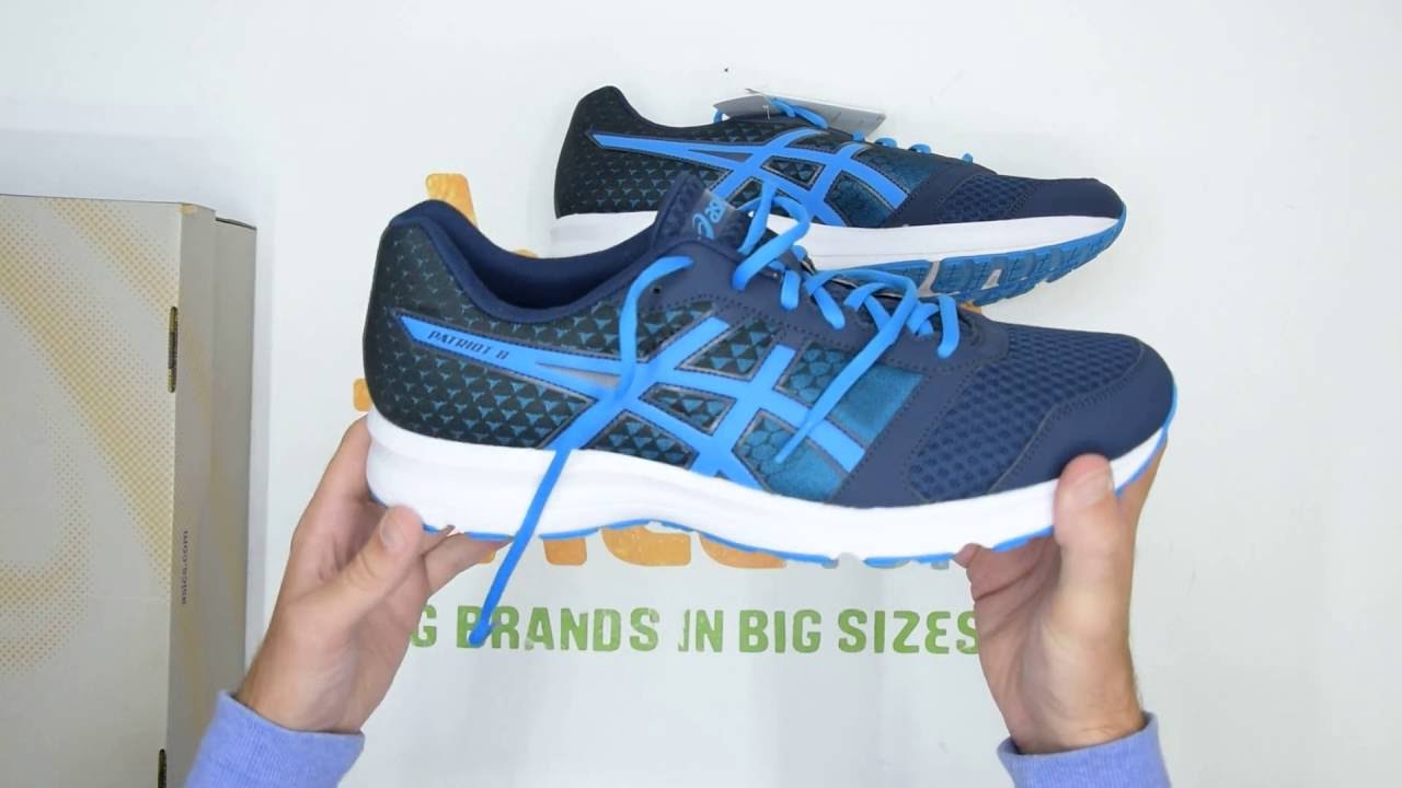 asics patriot 8 mens running trainers