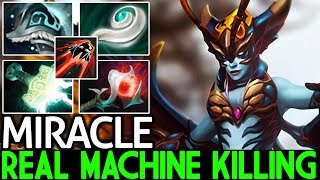 Miracle- [Queen of Pain] Real Machine Kill Monster Unleashed 7.21 Dota 2