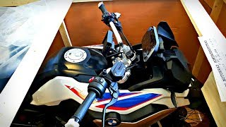 2018 BMW F850GS Unboxing & Engine Start-up