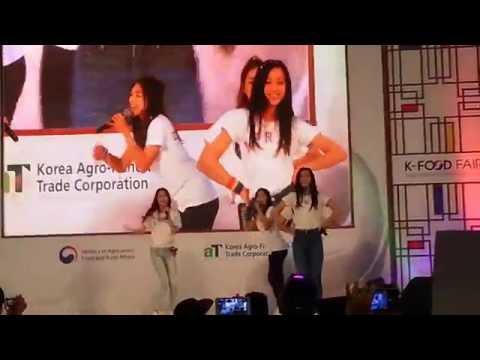 27/08/2016 APRIL - Dream Candy LIVE @ 1Utama, Malaysia