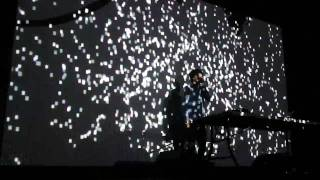 Nosaj Thing LIVE Visual Show playing @ Brooklyn NY High Quality Pt 1