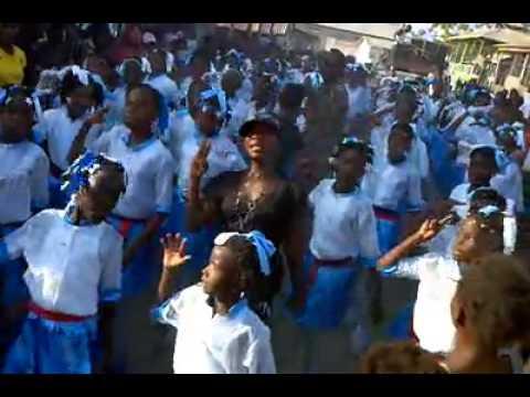 18 mai a Desdunes( Haitian Flag Day in Haiti)