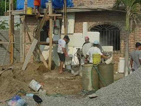 Cement Roofing Crew Mexico