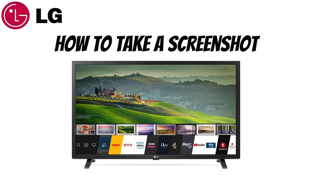 How To Take A Screenshot On Lg Smart Tv 2021 Youtube