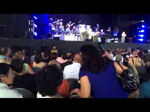 Yanni concert in Toronto at molson Canadian Amphitheatre amazing beginning .