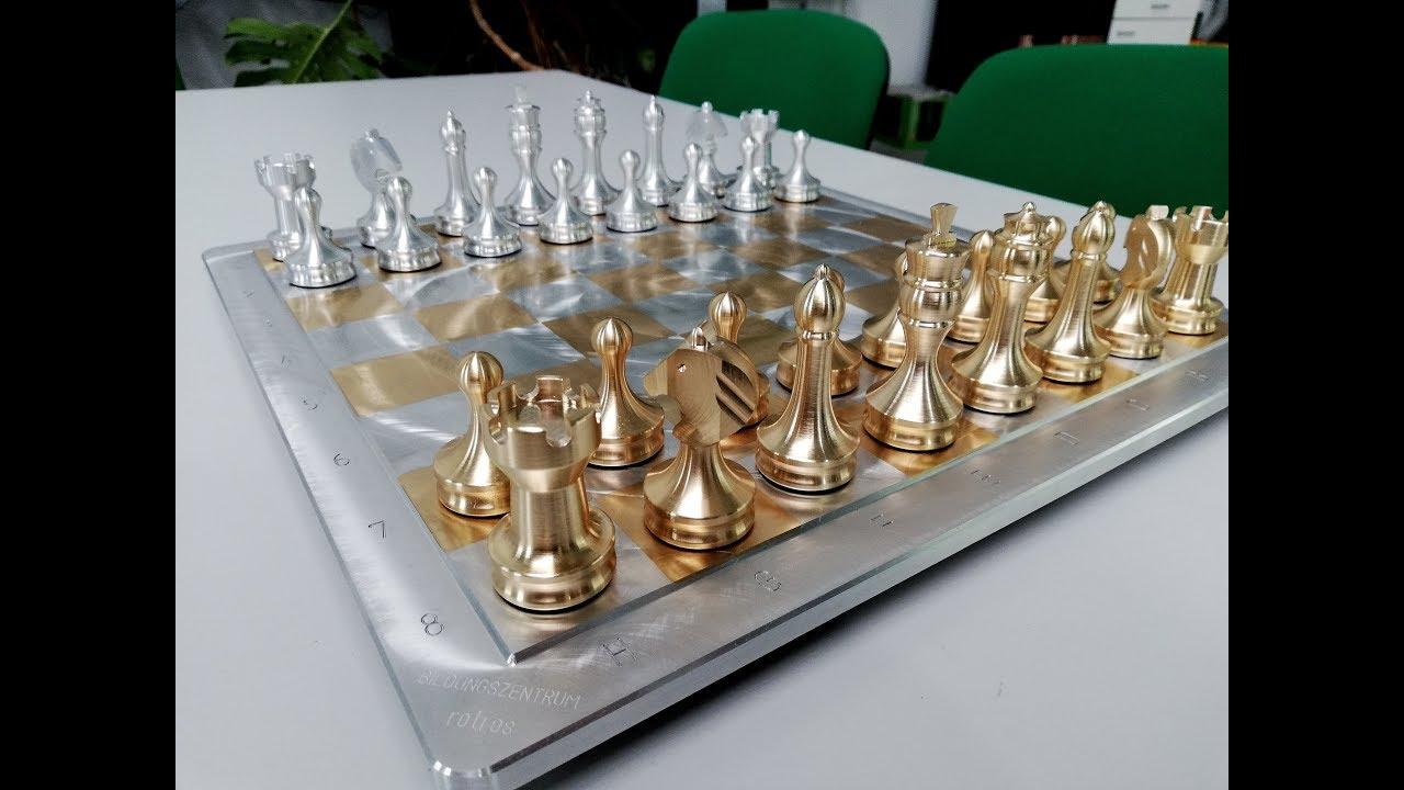 Schachspiel Selber Bauen Bildungszentrum Rotros Komplette