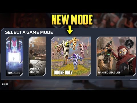 *DRONE ONLY MODE* - APEX  LEGENDS Moments! #109